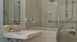 Greenfield MA Hotel Bathroom