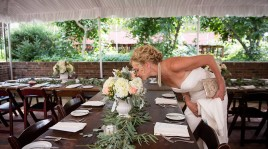 Weddings at Deerfield Inn - bride