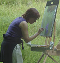 Painting in the Massachusetts Countryside