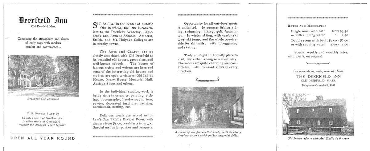1920's Brochure
