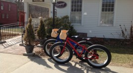 Biking Deerfield MA