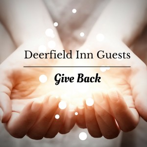 Deerfield Inn Gives Back