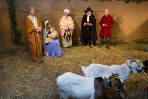Deerfield Live nativity