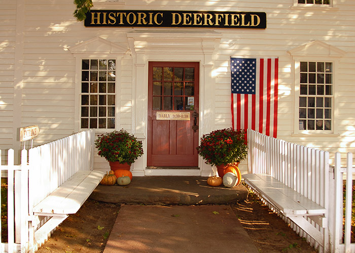 Historic Deerfield building