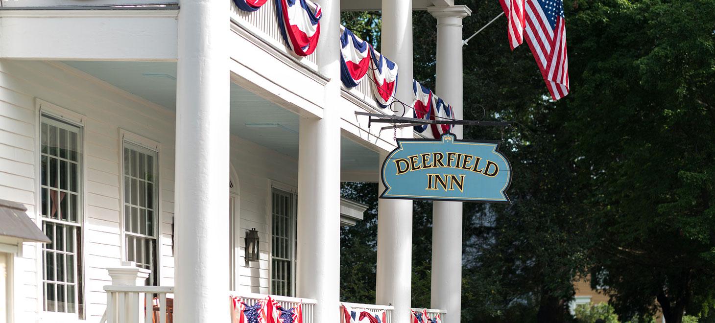 Deerfield Inn sign