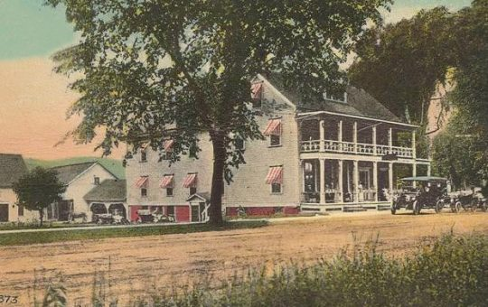 Deerfield Inn - historic photo