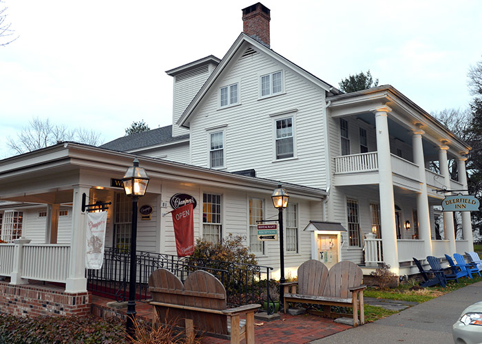 Exterior view of Champney's and Deerfield Inn