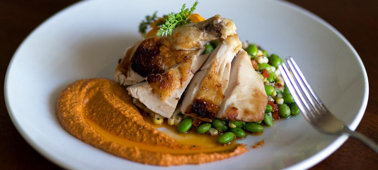 Fancy food on a plate