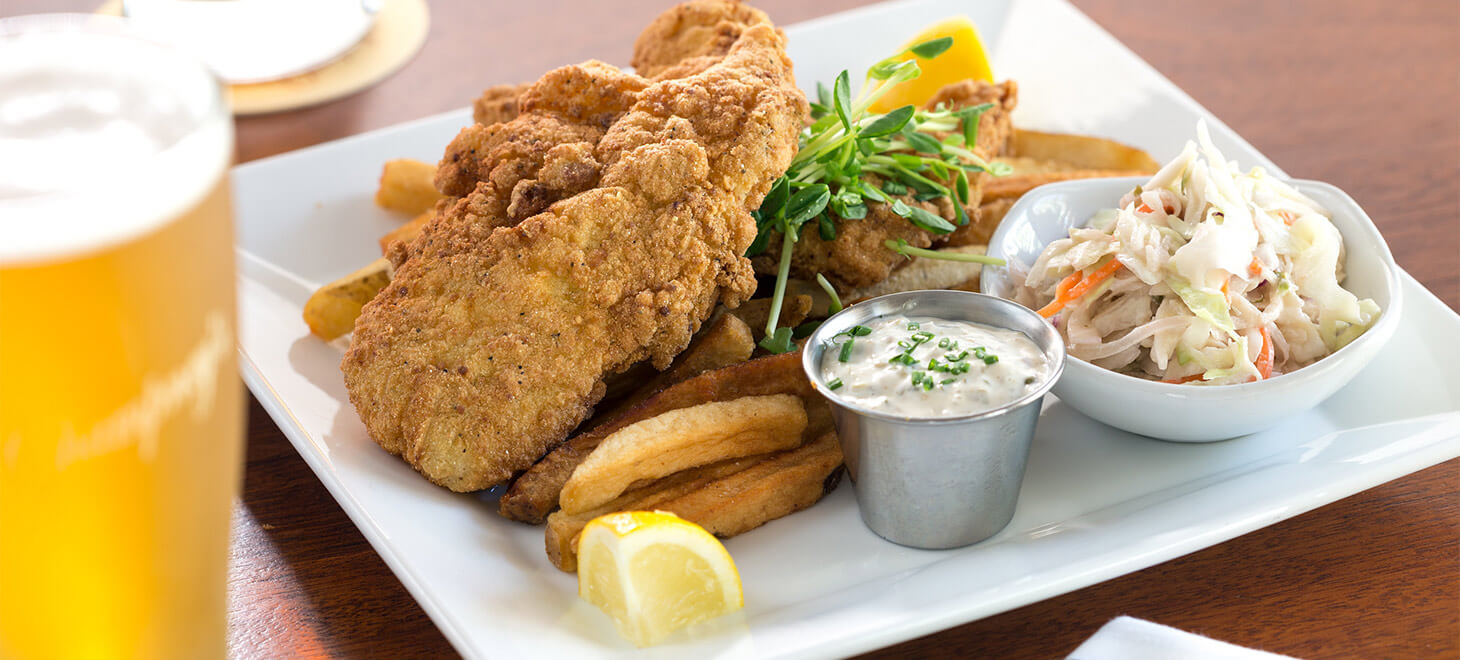 Champney's Restaurant Fish and Chips